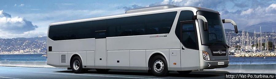 Автобус компании Giant Ibis