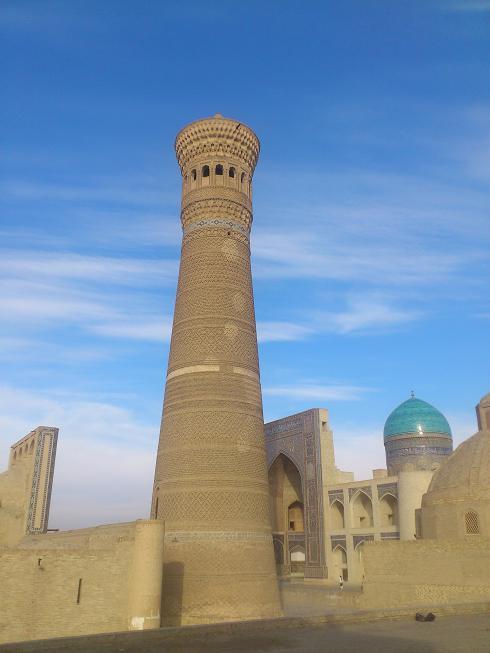 Сердце Азии (Самарканд, Узбекистан) Минарет Калян