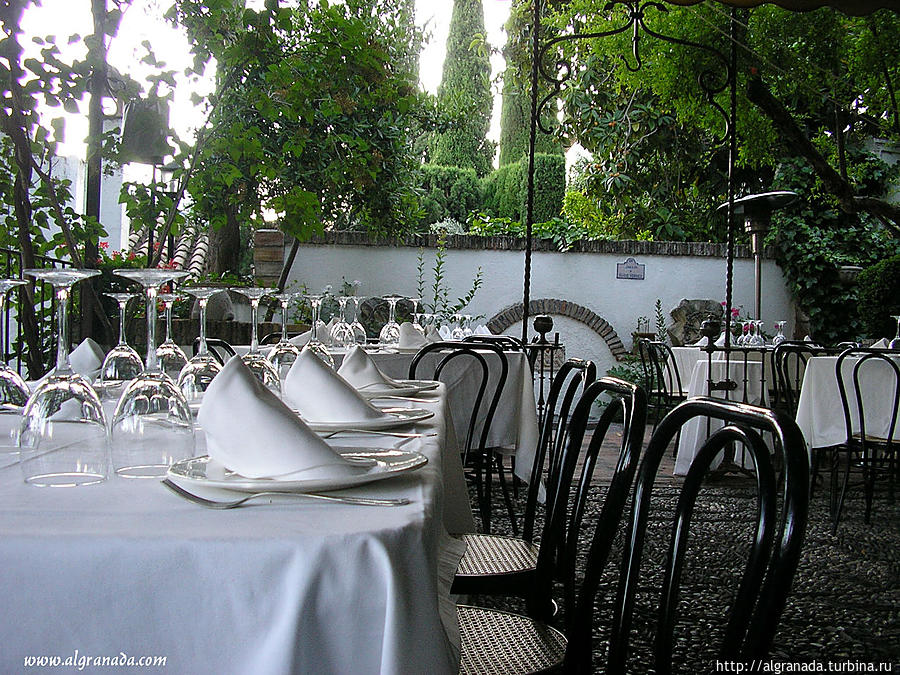 Ресторан Мирадор де Морайма Гранада, Испания