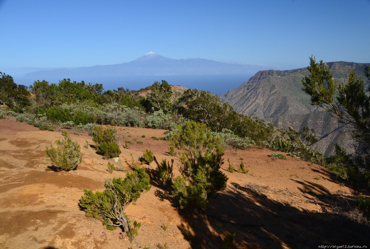 Вид на Тенерифе и долину