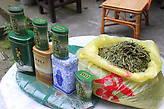 Знаменитый сорт зелёного чая Лунцзинь