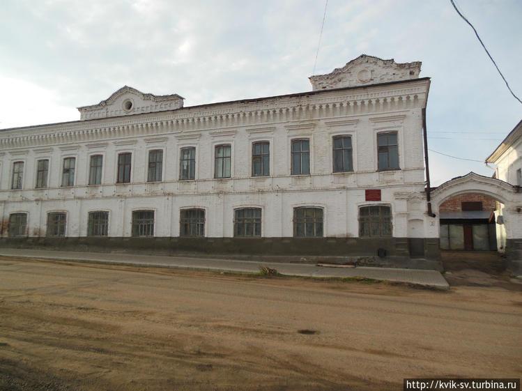 Еще здание  старинной  по