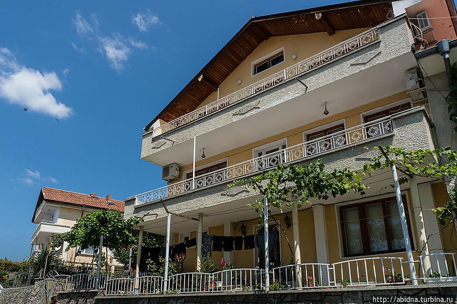 Небольшой курорт Святой Влас Свети-Влас, Болгария