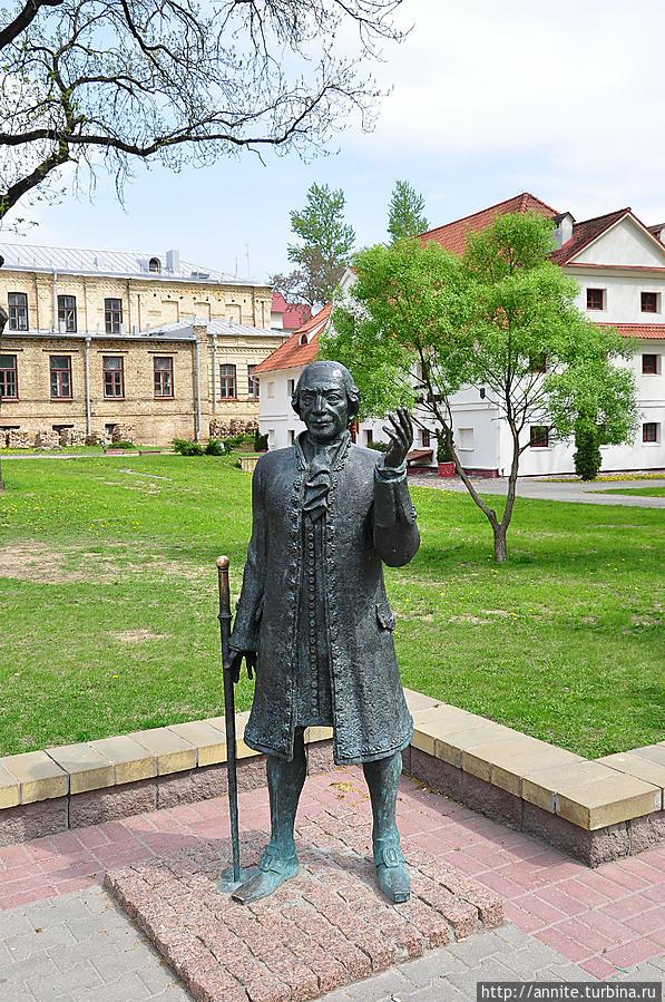 Скульптура Жилибера.