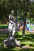 Скульптура в парке Культуры и Отдыха