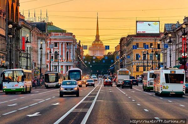 Невский проспект Санкт-Петербург, Россия