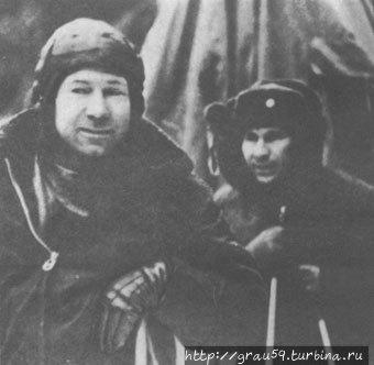 А. А. Леонов и П. И. Беля