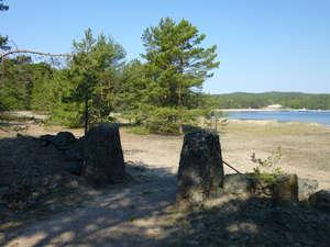 Ворота на деревенское кладбище