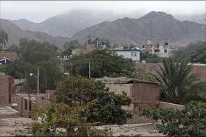 Небольшой городок, затерявшийся среди холмов, тоже носит название Наска