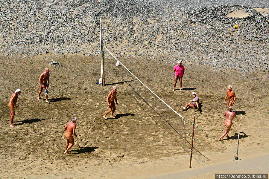 Фото голых волейбол нудистов