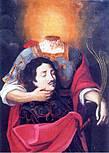 Фреска изображением Святого Доминина на пути в Фидензу (фото из интернет)