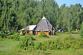 Алтайский аил у турбазы.