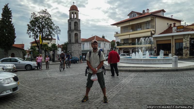 Андрей Алмазов в Греции