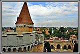 С высоты башен замка можно любоваться замечательной панорамой окрестностей.