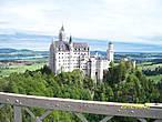 Вид на замок с моста
