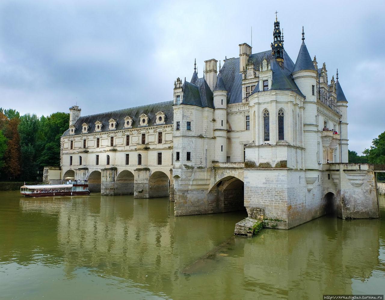 Замок Шенонсо. Ради пряди леди Ди… Шенонсо, Франция