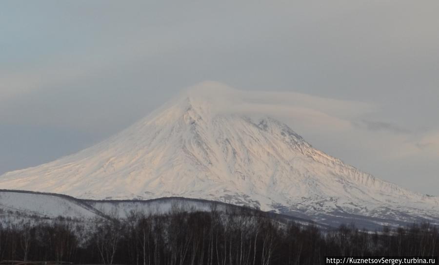 Корякский вулкан от Кайнырана