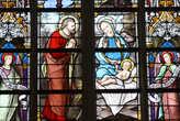 Витражи в Базилике Тонгеренской Богоматери