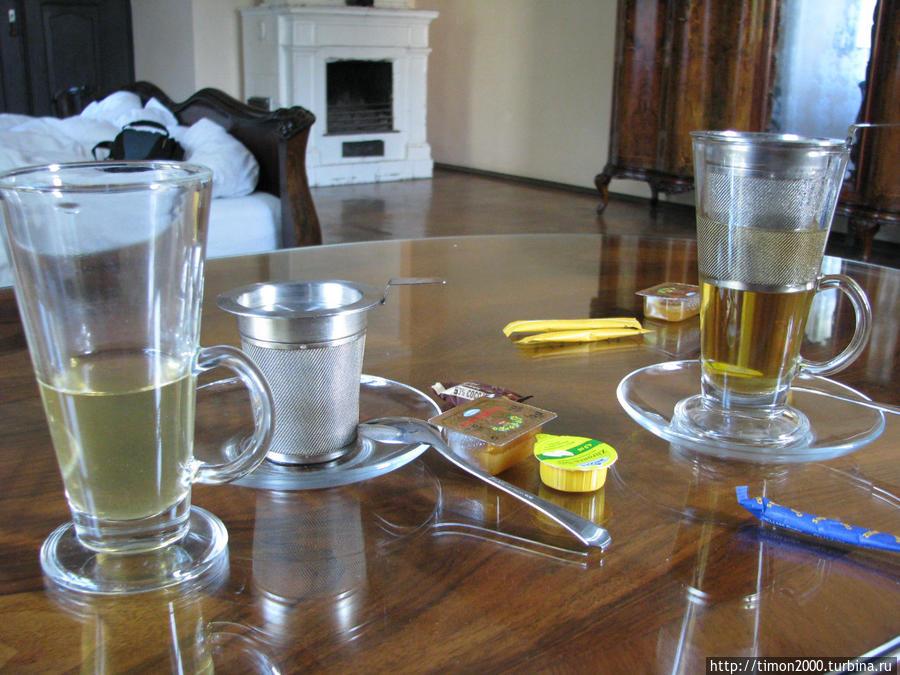 Чайная пауза в номере