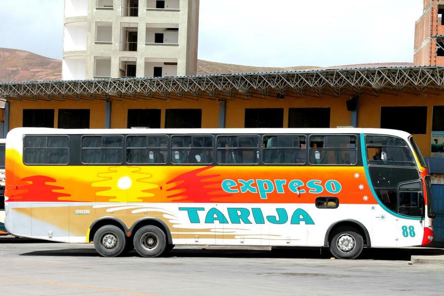 Автобус маршрута Потоси — Тариха