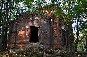 Остатки монастыря