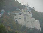 Утро 29,09,12. Вот он прекрасный белый лебедь в тумане  — Николаевская церковь
