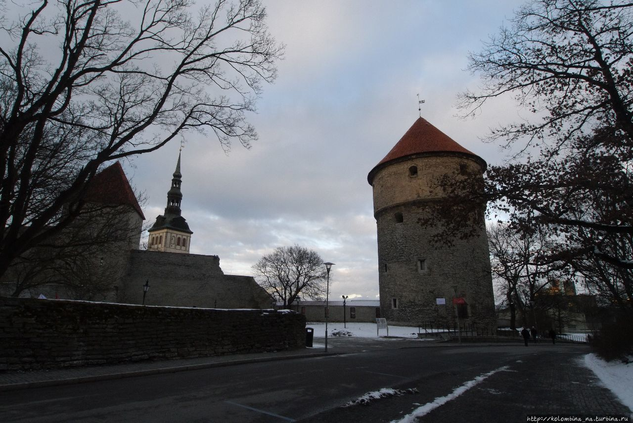 Башня Кик-ин-де-Кёк Таллин, Эстония