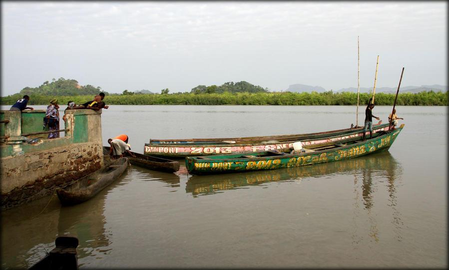 Первое знакомство с Западной Африкой Дубрека, Гвинея