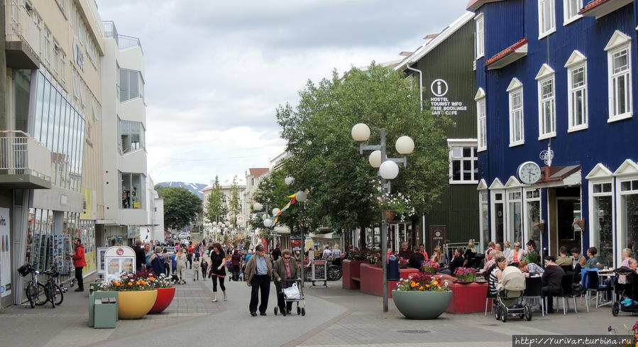 Северная столица Исландии  — город Акюрейри Акюрейри, Исландия