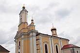 Церковь была построена в 1762-1778 гг. в стиле барокко по фундации Кристины из рода Сапег. Кстати, на месте кирпичной церкви была ранее деревянная церковь, известная с 1568 года.