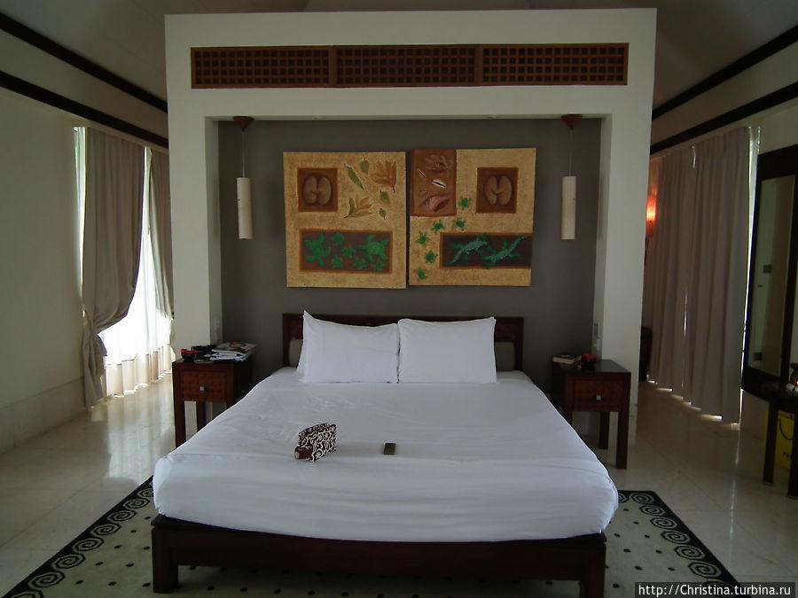 Спальня на вилле Beach Spa Villa
