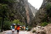 Начало каньона.