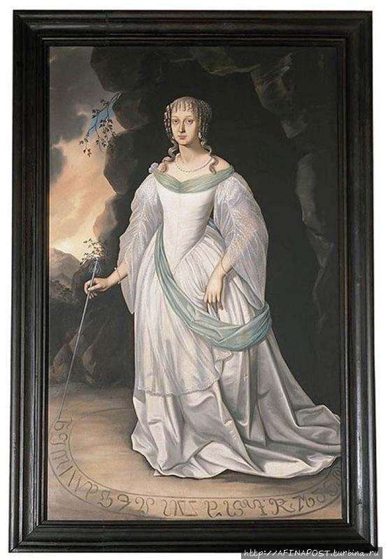 легенда о белой даме молодой