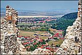 Вид на город Рышнов и Брашов