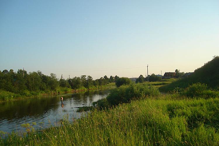 Кострома река