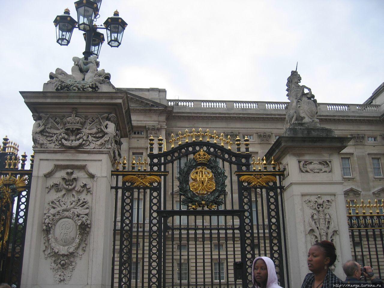 Ворота Букингемского Двор