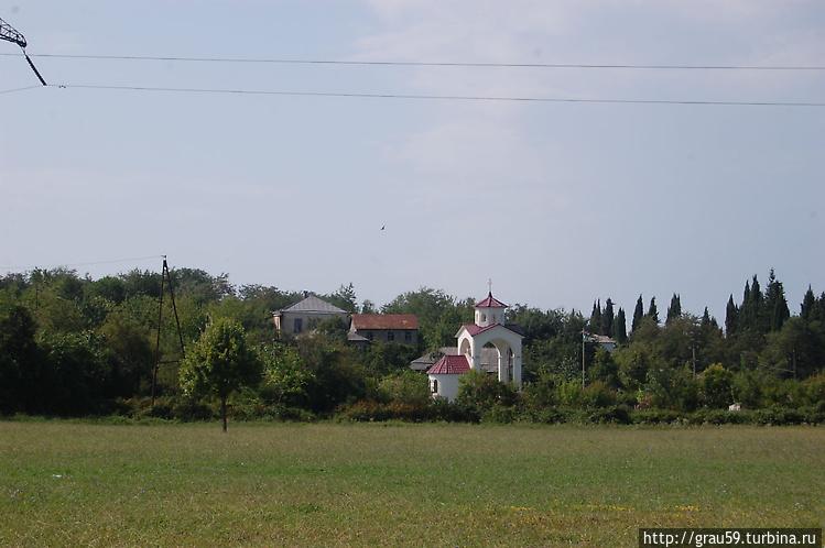 Вид на южную часть поляны