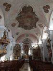 Потолочная фреска создана 1750 году Иоганном и Отто Гебхардами.
