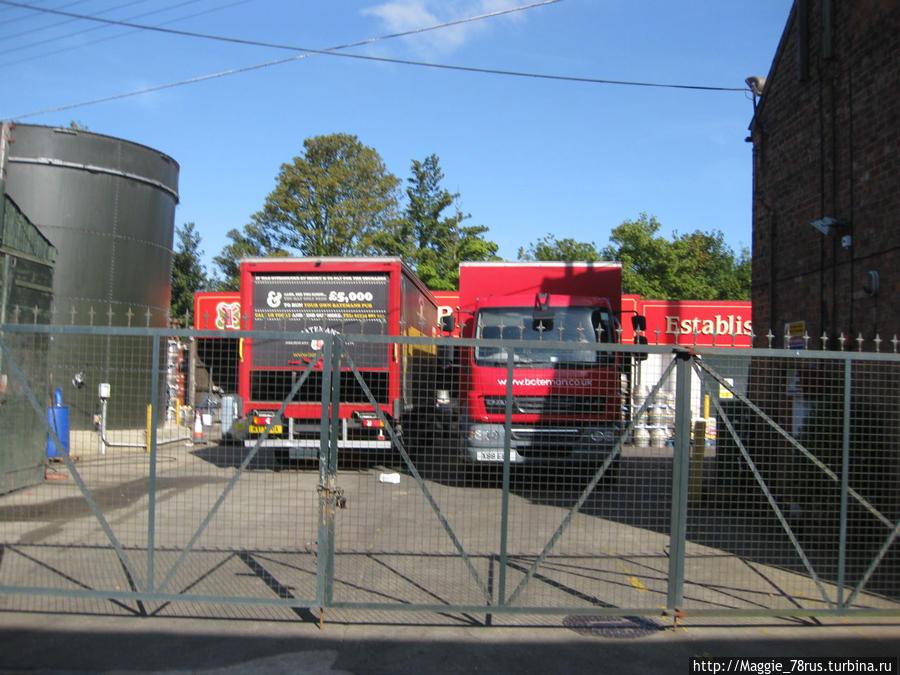 Собственные грузовики доставляют касковое пиво в пабы