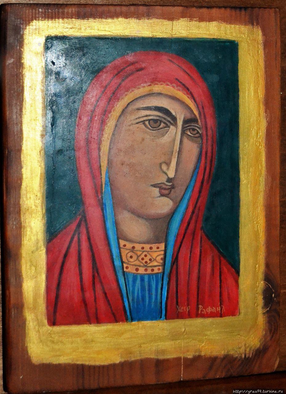 Странствия Филермской иконы Божией Матери