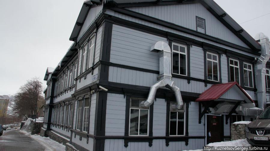 Исторические дома в Петропавловске на Ленинской улице