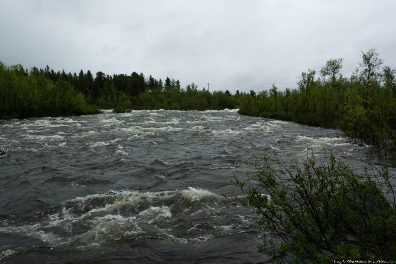 И в Швеции есть заполярье Абиско, Швеция