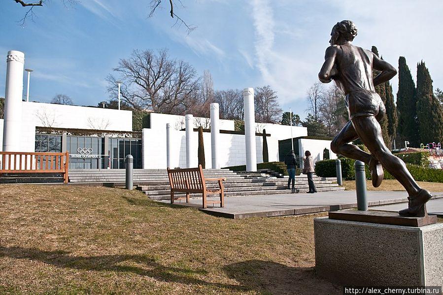 Вид на главное здание музея