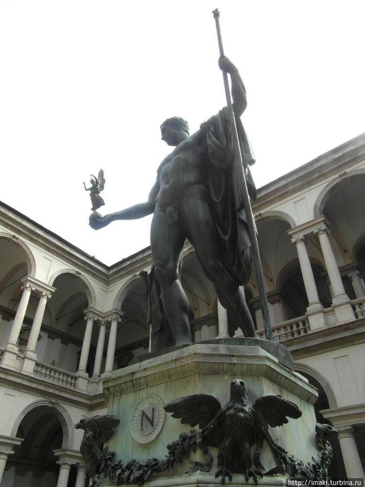 Наполеон Кановы, изображе