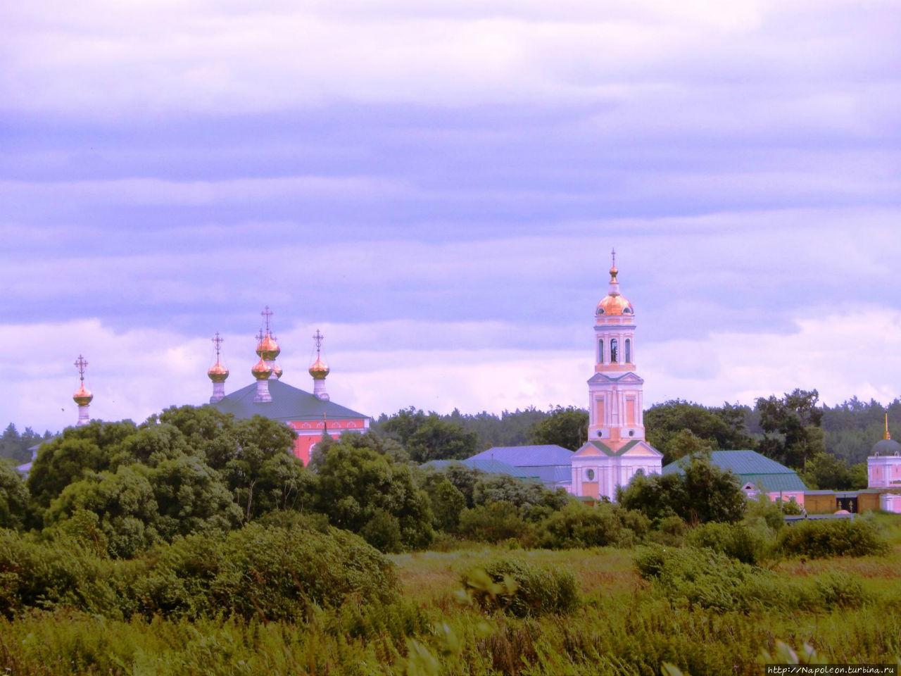Свято-Николо-Чернеевский мужской монастырь Шацк, Россия