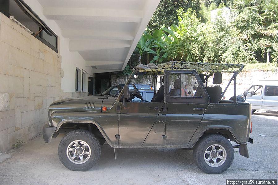 Абхазский джип