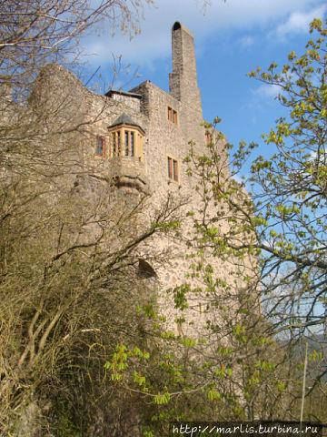 развалины замка  Боссельш