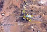 Вид из космоса на высокогорный участок границы Чили — Боливия