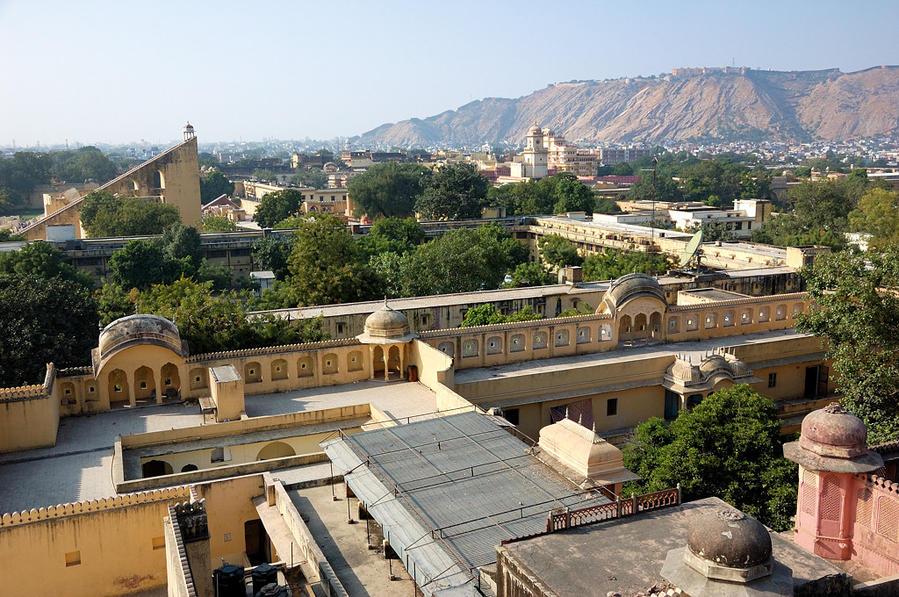 Вид на Джайпур