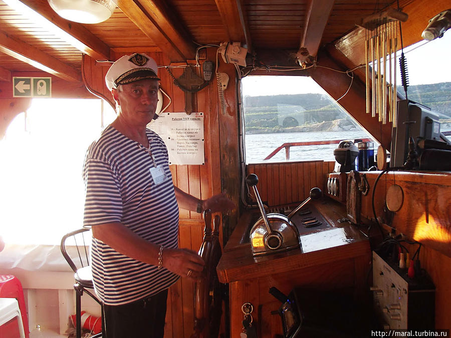 Капитан Костев — настоящий морской волк
